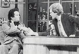 Melcochita y Letterman