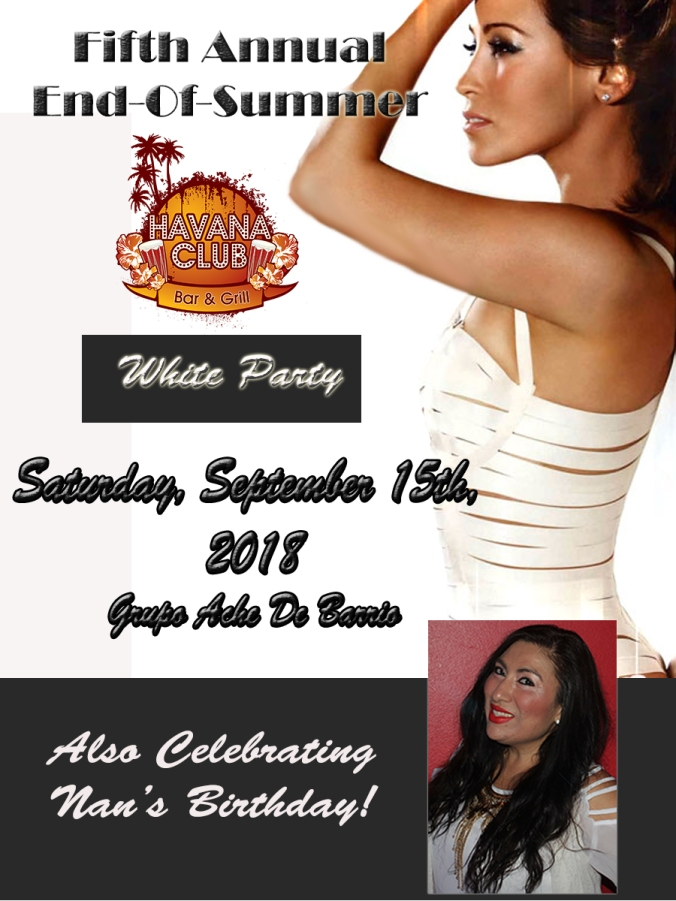White Party General Ad 2018 -